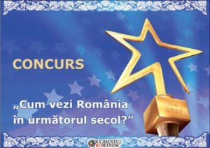 """Un elev de 17 ani din Cugir, județul Alba, a câștigat concursul """"Cum vezi România în următorul secol?"""""""
