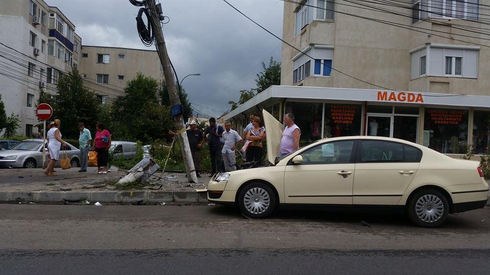 Alta rece: Accident de circulație în Mangalia, azi dimineață! FOTO