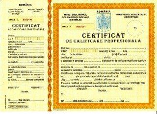 Cursuri de calificare și formare profesională