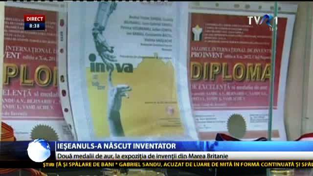 România a obţinut două medalii de aur la cea mai mare expoziţie de invenţii din Marea Britanie