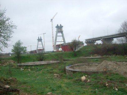 Situația podului nou de la Agigea