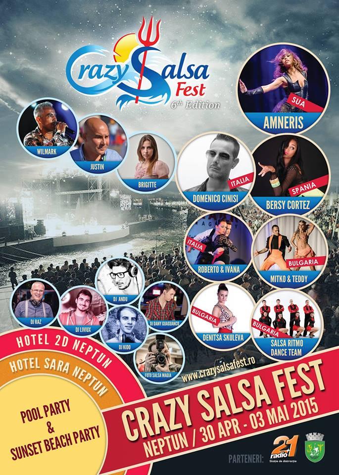 CRAZY SALSA FEST 2015 Neptun – Mangalia
